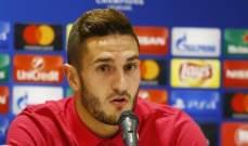 كوكي : نريد الحصول على أفضل نتيجة امام موناكو
