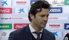 سولاري : الريال لن يستسلم وسيلاحق برشلونة واتلتيكو مدريد حتى النهاية