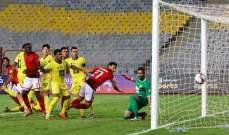 البطولة العربية : الاهلي ينجو من الهزيمة ويتعادل مع الوصل الاماراتي