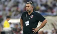 مدرب شباب الاهلي دبي يُعلق على التعادل أمام الوحدة