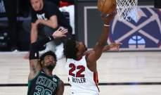 NBA: ميامي يفوز على بوسطن ويوسع الفارق في السلسلة