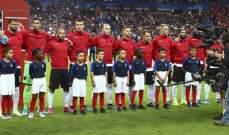 غرامة مالية على الاتحاد الفرنسي بعد خطأ لقاء البانيا