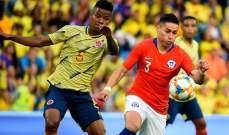 """تونس تهدر وتتعادل مع الكاميرون وكولومبيا وتشيلي """"حبايب"""""""