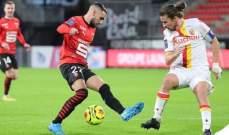 الدوري الفرنسي: لانس يعود بفوز ثمين من معقل رين