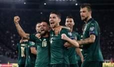 إيطاليا ستحضّر لكأس أوروبا في قطر