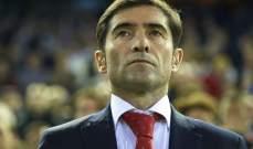 مدرب فالنسيا : نحن متعطشون للفوز على اتلتيكو مدريد