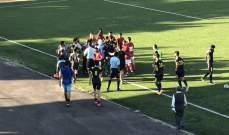 خاص: مشاهدات مباراة العهد والشباب الغازية في كأس النخبة