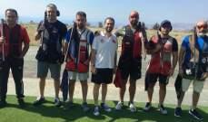 رماية: ألان موسى بطل المرحلة الثانية من بطولة لبنان للتراب الفئة (أ) ممتاز