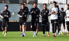 لاعبو الشباب السعودي يعاودون نشاطهم
