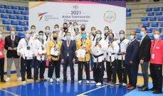 """بطولة آسيا بالتايكواندو """"غلّة""""وفيرة للبنان في اليوم الاول : 13 ميدالية"""