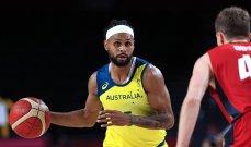 منتخب استراليا لكرة السلة يتصدر المجموعة الثانية في طوكيو 2020