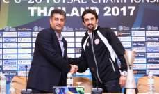 مدرب منتخب لبنان لكرة الصالات تحت 20 عاماً : سنفاجئ الايرانيين