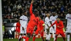 الدوري الفرنسي: اميان يتعادل مع باريس سان جيرمان في مباراة مجنونة