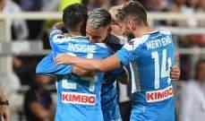 """نابولي يعود بفوز ثمين من معقل الفيولا بعد مباراة """"مجنونة"""""""