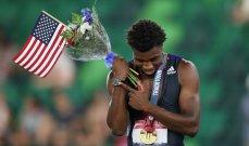 """أولمبياد طوكيو-قوى: لايلز """"المركز الثاني أو الثالث لا يعنيني، لا أفكر إلا بالفوز"""""""