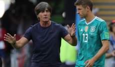 لوف يريد ضم توماس مولر لقائمة المنتخب الألماني في يورو2020