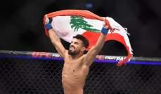 المقاتل خالد طه يسرق الاضواء في الـ UFC