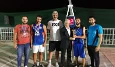 """جمعية صيدا انترناشيونال ماراثون""""  نظمت دورة في كرة السلة """" 3×3"""""""