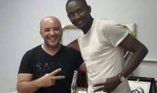 باباكار ديوب يصل الى لبنان للانضمام الى النجمة