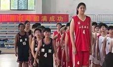 عملاقة الصين الجديدة تخطف انظار متابعي كرة السلة العالمية