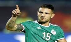 ديلور سعيد بهدفه الرسمي الاول مع الجزائر