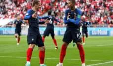 انتهاء اللقاء بفوز فرنسا بهدف يتيم امام البيرو