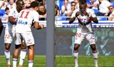 الدوري الفرنسي: فوز ليون وموناكو واشتعال الصراع من اجل البقاء
