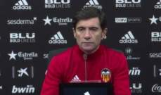 مارسيلينو : علينا التحسن سريعاً