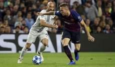احصاءات مباراة برشلونة وانتر