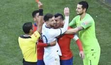 ميسي يُطالب كونميبول بإلغاء البطاقة الحمراء