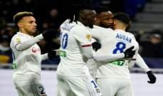 كأس الرابطة الفرنسية: ليون الى النهائي بالفوز على ليل بركلات الترجيح