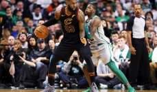 NBA: كليفلاند يعمق جراح بوسطن وتورنتو يبتعد في الصدارة