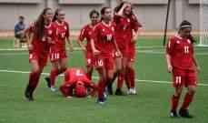 ناشئات لبنان يسقطن امام بنغلادش في تصفيات بطولة اسيا 2019