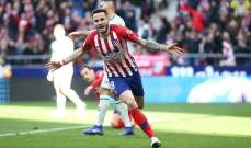 اتلتيكو مدريد يضيّق الخناق اكثر على برشلونة بثنائية امام خيتافي