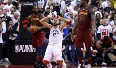 NBA PLAYOFFS :ليبرون جيمس يعاقب تورنتو في افتتاح سلسلة نصف النهائي الشرقي