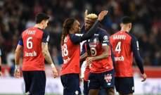 الليغ 1: انتصار ليل وانجيه وتعادل موناكو