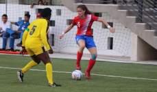فوز كبير لسيدات المكسيك لكرة القدم على هايتي في بطولة برانكويلا 2018