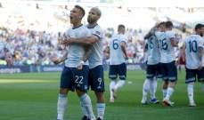 الأرجنتين تواجه المانيا والإكوادور ودياً الشهر المقبل