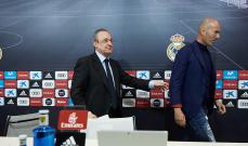 السبب وراء استقالة زيدان من تدريب ريال مدريد
