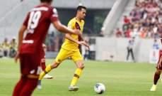 بيريز يقود برشلونة للفوز على حساب فيسيل كوبي