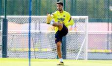 سواريز يشارك في تدريبات برشلونة الجماعية استعدادا لاستئناف الدوري