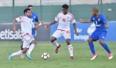 الاولمبي الاماراتي يفوز على نظيره الكويتي في مباراة ودية