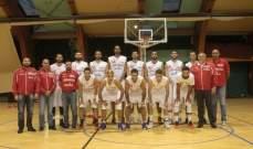 بعثة منتخب لبنان في كرة السلة تعود الثلاثاء من بولندا
