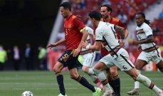 منتخب اسبانيا يتلقى لقاح كورونا بعد اصابة بوسكيتس