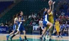 المرحلة الثالثة من دورة آن ماري عبد الكريم السنوية الرابعة بكرة السلة