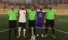 نتائج الاسبوع الثاني من بطولة لبنان في الميني فوتبول