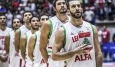 احصاءات مباراة المنتخب اللبناني ومنتخب الصين