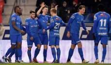 الدوري البلجيكي : غنك يبتعد بالصدارة بعد فوزه على غنت