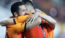 الدوري التركي: غلطة سراي الى وصافة الترتيب + نتائج