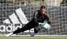 اريولا يشارك لاول مرة في تدريبات ريال مدريد